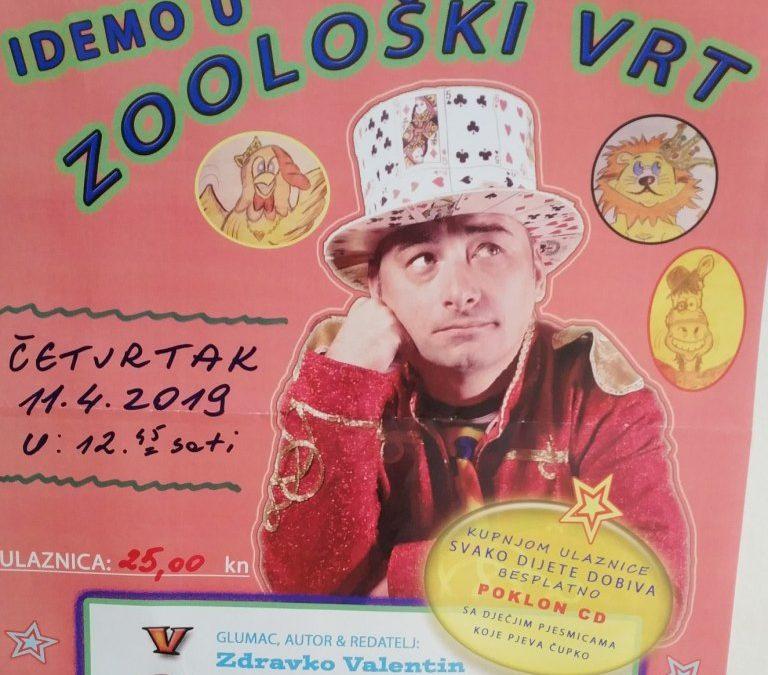 """""""Idemo u Zoološki vrt"""" – klaun Čupko"""